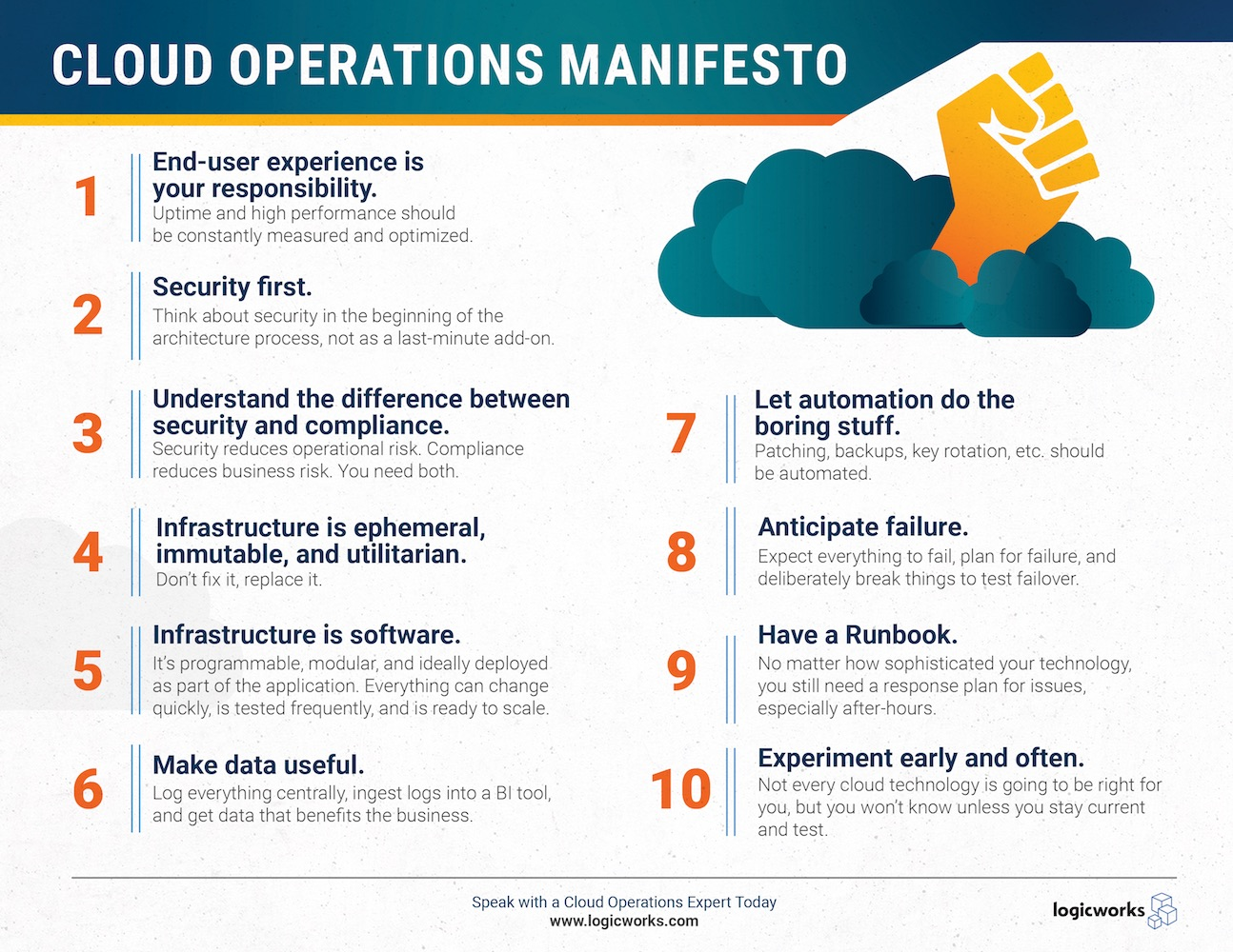 Cloud Operations Manifesto